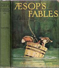 Aesop's Fables retold by Blanche Winder 24 clr plt by Harry Rountree, nd, hdbk