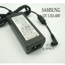 Genuine Samsung 12v 3.33a 40w Charger AC Adapter for ATIV Smart PC 500t Pro 700t