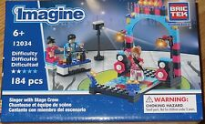 Singers with Stage Crew BricTek Imagine Building Block Construction Toy 12034