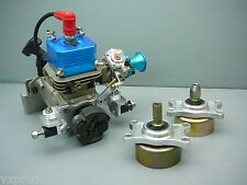 VXP 5.5HP 26cc Gas Marine Engine w/ Clutch Mounts Collet Throttle Lever