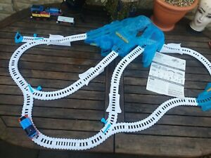 Thomas the tank engine trackmaster train set icy mountain drift set *COMPLETE*