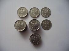 Drittes Reich LOT 40 Stück 1 Reichsmark Nickel
