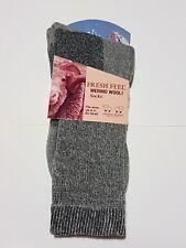 MENS Merino Wool Blend Walking  Socks  OUTDOOR WARM   INDOOR  WOOL SOCKS NEW