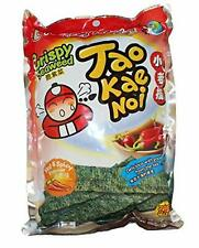 Taokaenoi Crispy Seaweed Hot & Spicy Flavor (Pack of 6) by Tao Kae Noi