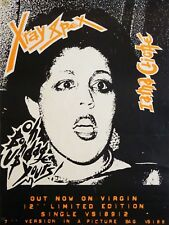 """X Ray Spex 16"""" x 12"""" Reproduction Promo Poster Photo"""