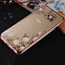 New ! ShockProof Silicone Bumper Clear Slim Case Cover For Samsung Galaxy Phones
