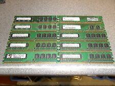 Job Lot 32 x 512MB PC2-5300U DDR2 Memory RAM Sticks! Tested!