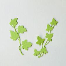 New listing 2pcs Flower Tree Design Metal Cutting Die For Diy Scrapbooking Album Paper ty