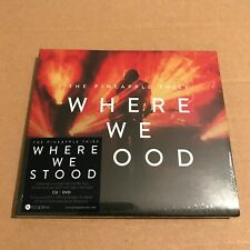 """The Pineapple Thief """"Where We Stood"""" CD + DVD 2020 Sealed [Bruce Soord]"""