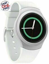 Samsung - Gear S2 Smartwatch 42mm Stainless Steel - Silver Elastomer SM-R720