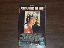 STAYLING ALIVE - BETA NEW SEALED RARE - 1983 John Travolta - PARAMOUNT