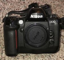 Nikon D100 6.1 MP Digital SLR Camera - Black (Body w/charger & 2 Batteries)