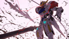 Mobile Suit Gundam Iron Blooded Orphans Silk poster wallpaper 24 X 13 inches