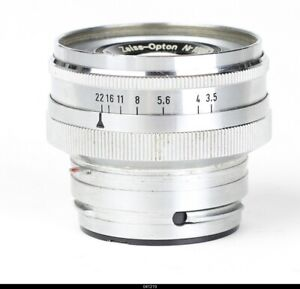 Lens Zeiss Opton  Tessar 3,5/50mm   for  Contax IIa IIIa