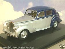 Oxford #bn6005 1/43 Moulage sous pression 1946- '52 Bentley MK VI 2-tone Gris