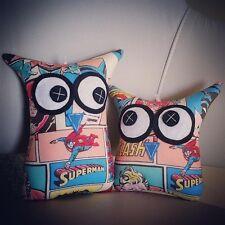 💙 Handmade Owl Softies  💙 Superman MiniMe Set | Baby | Boys | Gifts | Comic