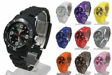 Quartz (Battery) Plastic Case Unisex Round Wristwatches