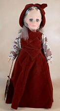 "Vintage Effanbee GiGi Grand-me're 11"" Vinyl & Plastic Doll Made In Usa"