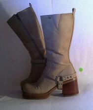 "Skechers Somethin' else Boots Women's Size 7 SN: 3403 w/Removable Straps 3"" Heel"