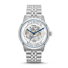 Fossil Men's Townsman ME3044 Silver Stainless-Steel Dress Watch