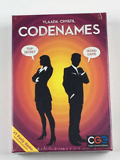 Codenames Strategy Spy Game Team Play Czech Games Edition