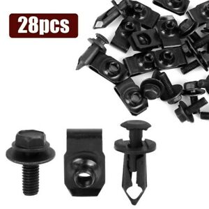 Splash Shield Guard Bumper Hardware Kit Body Bolt Clip For Infiniti G35 G37 G37X