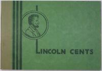 Wayte Raymond Empty Lincoln Cents Green Album 1909-1948 Faxon Distributor