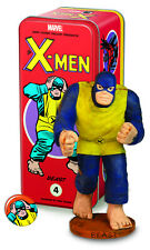 "CLASSIC MARVEL CHARACTER TIN X-MEN #4 ""BEAST"" STATUE AND BUTTON (DARK HORSE)"