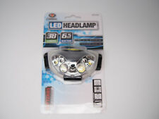Power NICHIA LED Essential Headlamp Flashlight w/ Red Light 38 Lumens 4 Modes