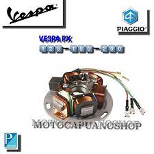 217866 STATORE MAGNETE ORIGINALE VOLANO VESPA PX 125 150 200 ARCOBALENO 5 fili