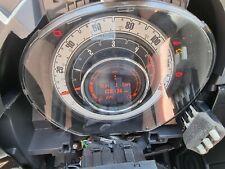 2008 FIAT 500 DIESEL INSTRUMENT CLUSTER CLOCKS SPEEDOMETER 735471896