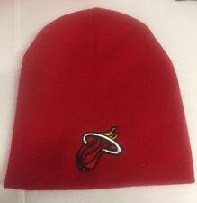 Miami Heat Red Beanie New Winter Hat Scull Cap