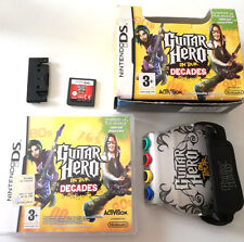 GUITAR HERO ON TOUR DECADES + GUITAR GRIP (BUNDLE) NINTENDO DS ORIGINALE NDS ITA