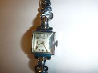 watch Montre STRATO femme lady vintage chromed france fond acier steel back gift