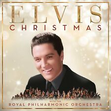 ELVIS PRESLEY CHRISTMAS WITH ELVIS CD (Royal Philharmonic Orchestra) (6/10/17)