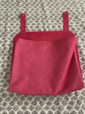 31 Thirty One Pink Crosshatch Oh Snap Pocket
