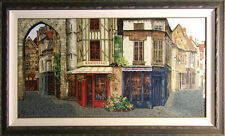 "Viktor Shvaiko ""Salon de The"" Hand Signed with custom frame Make an Offer!"