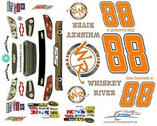 #88 Dale Earnhardt jr. Whiskey River 2013 1/43rd Scale Slot Car Waterslide Decal