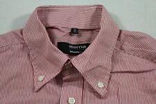 E5974 Eterna Excellent Blackline Businesshemd Kurzarm 40 Rot Weiß gestreift Neuw