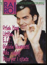 RARO! 78/ 1997 URIAH HEEP LITFIBA  E.L.P. GIGLIOLA  CINQUETTI MIKE  LIDDELL