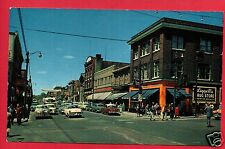 NORTH BAY ONTARIO CANADA MAIN STREET FORDER LIGGETTS DRUG STORE CARS  POSTCARD