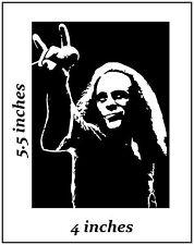 2 RONNIE JAMES DIO Stickers Cut Vinyl Decal Black Sabbath Elf Heaven n Hell