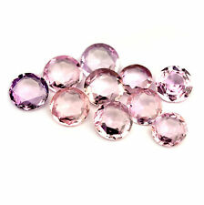Certified Natural Unheated Matching 2.34ct Pink Sapphires Round Rose Cut VVS