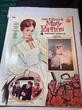 Walt Disney's Mary Poppins Paper Dolls Whitman 1964 Uncut Mint