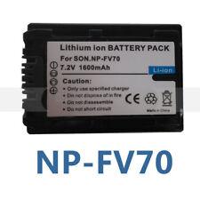NP-FV70 Battery for Sony Handycam HDR-CX550V DCR-SX83 DCR-SX85S DCR-DVD610