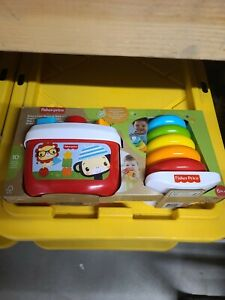 FISHER PRICE BABYS FIRST BLOCKS AND ROCK A STACK *NEW