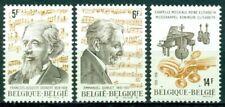 Belgium Scott #1041-1043 Mnh Composers Music $