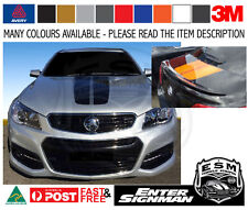 ESM TRACK BONNET & BOOTLID ONLY Stripe Kit to fit VF HOLDEN Sedan - Avery Wrap