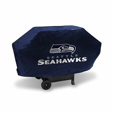 SEATTLE SEAHAWKS NFL DELUXE HEAVY DUTY TEAM LOGO BBQ FELT LINED GAS GRILL COVER