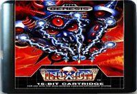 Truxton (1990) 16 Bit Game Card For Sega Genesis / Mega Drive System